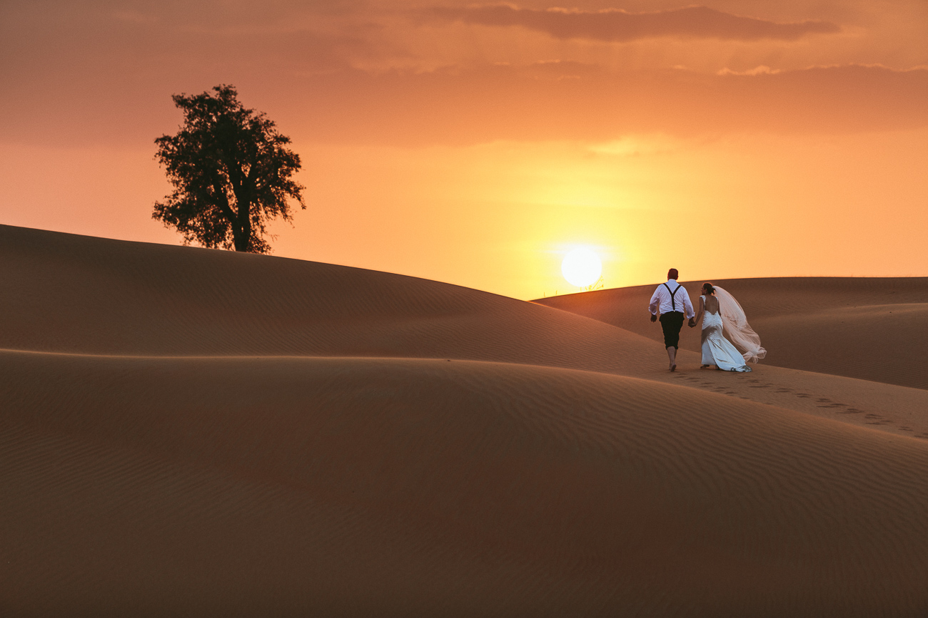 Hochzeitsfotograf_Berlin_Dubai_Iris Woldt_After Wedding_sunset