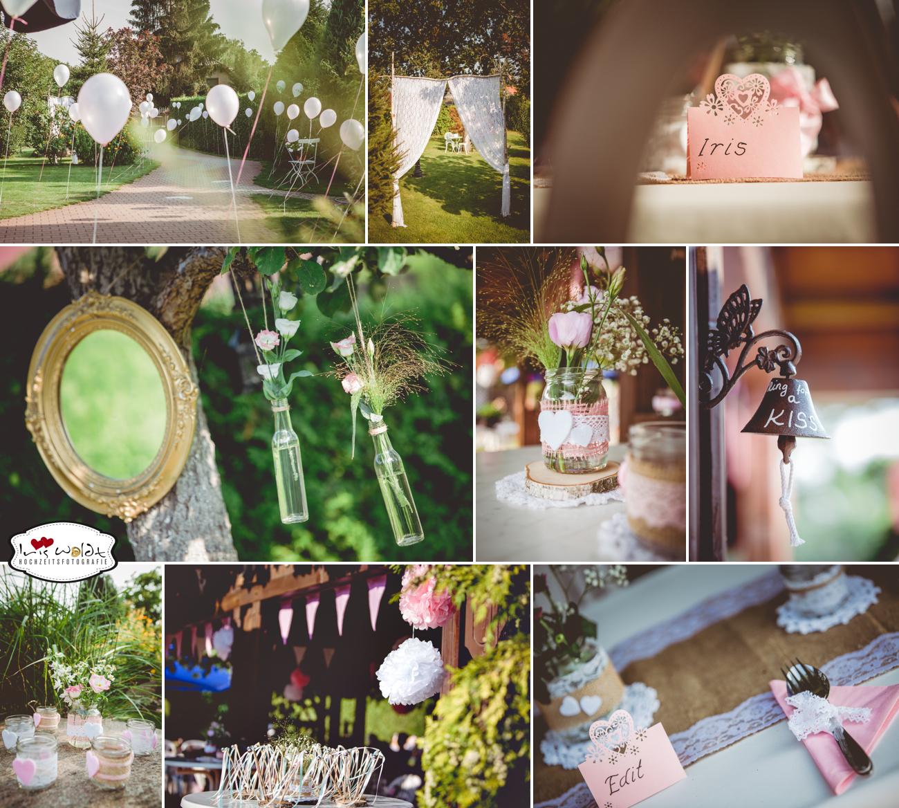 Vintage-Hochzeit: Gartenhochzeit 26