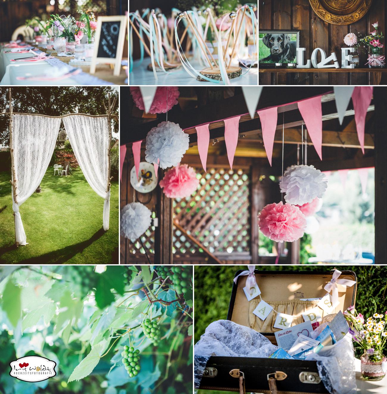 Vintage-Hochzeit: Gartenhochzeit 3