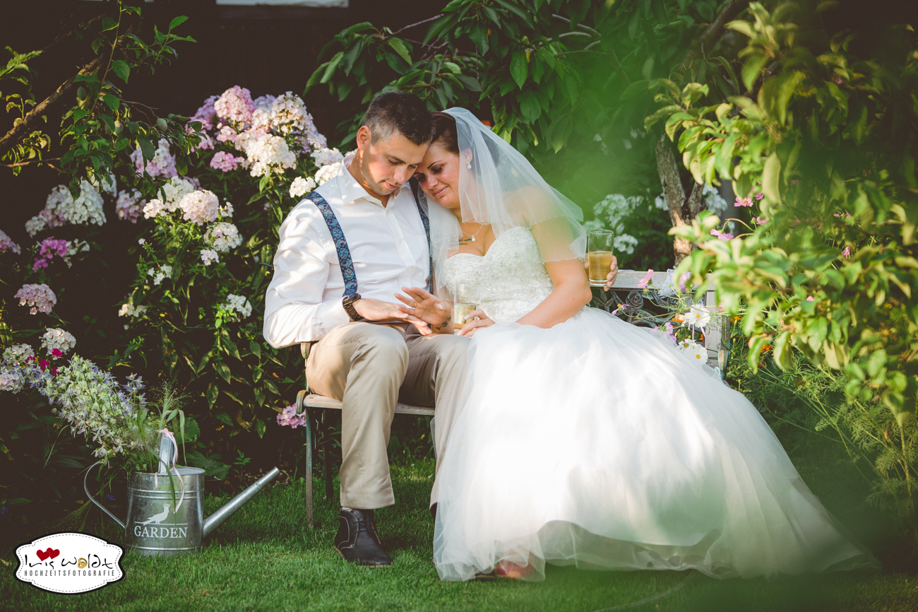 Vintage-Hochzeit: Gartenhochzeit 32