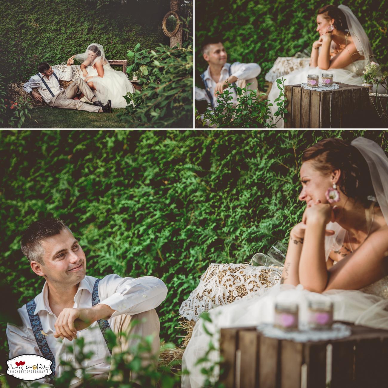 Vintage-Hochzeit: Gartenhochzeit 34