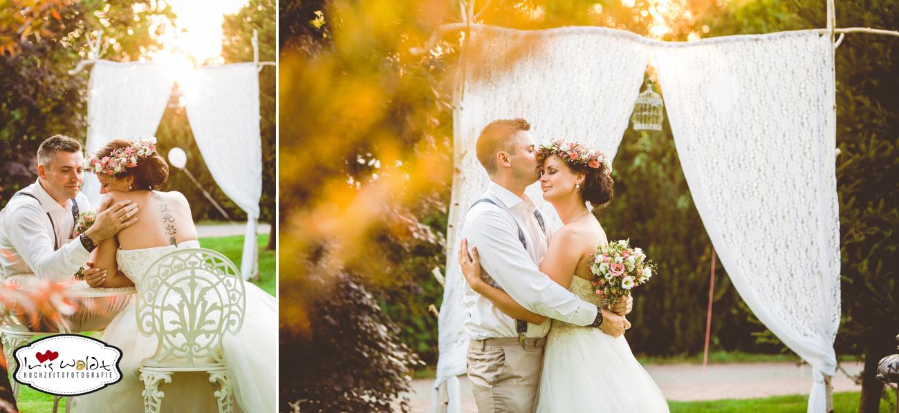 Vintage-Hochzeit: Gartenhochzeit 40