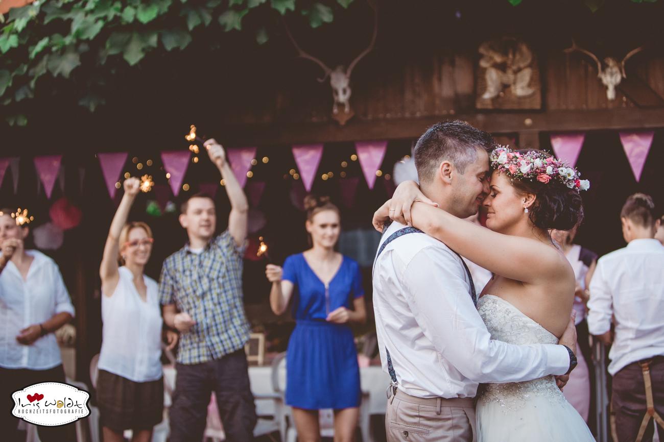 Vintage-Hochzeit: Gartenhochzeit 45